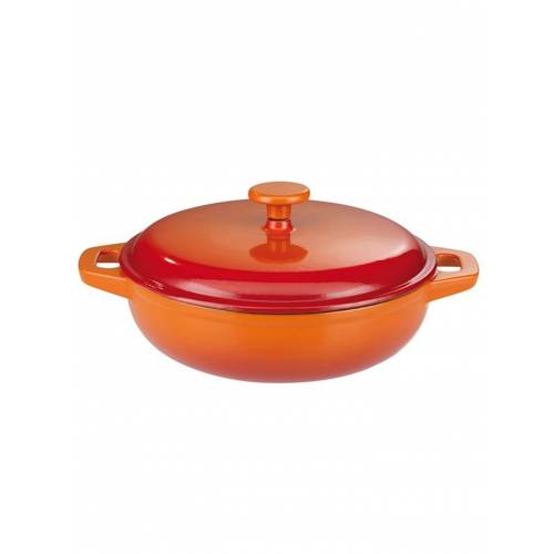 GSW Gusseisen Schmortopf 30cm Orange Shadow GSW Orange