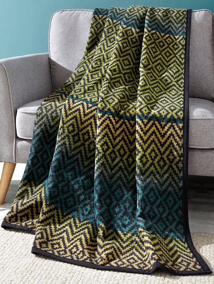 Ibena Jacquard Decke 'Granby' Ibena Multicolor