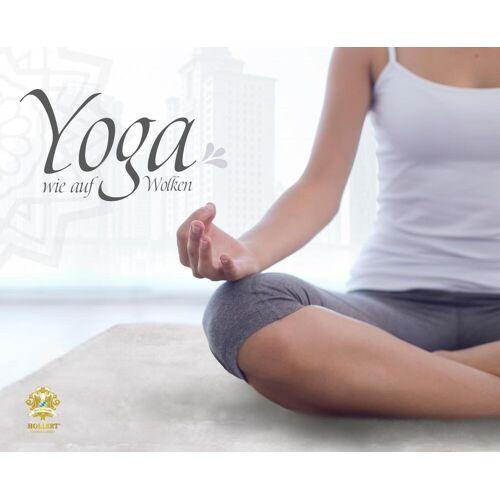 Hollert Yogamatte aus Lammfell weiß Kurzhaar versch. Größen 85 x 45