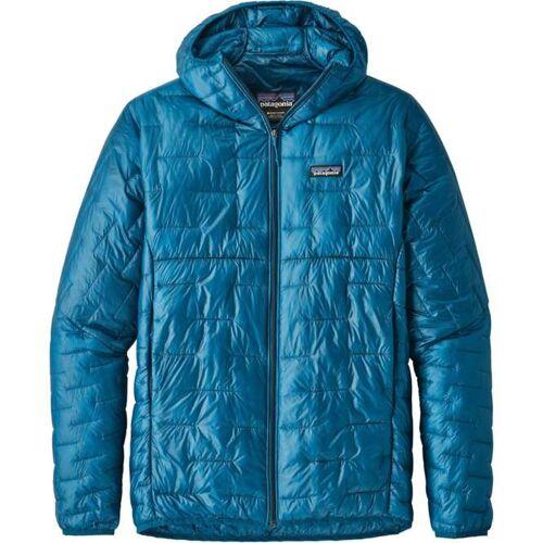 Patagonia Micro Puff Hoody Men - balkan blue   M
