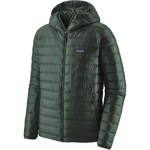 Patagonia Down Sweater Hoody Men - carbon   XXL