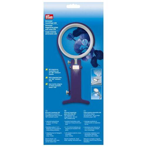 PRYM Universal Leuchtlupe LED, 100% Kunststoff, Zubehör, Leuchten & Lupen