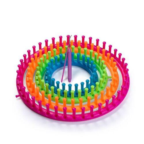 PRYM Strickring-Set   Farbe: pink   Kategorie: Strickring & Strickding   Kunststoff