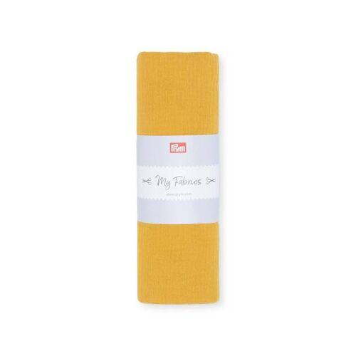 PRYM Musselin UNI   Größe 1m   Farbe: senf   Kategorie: Musselin   100% Baumwolle