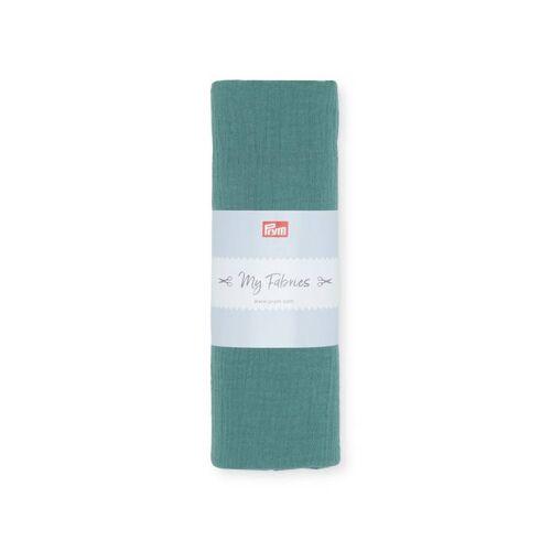 PRYM Musselin UNI   Größe 1m   Farbe: grün   Kategorie: Musselin   100% Baumwolle