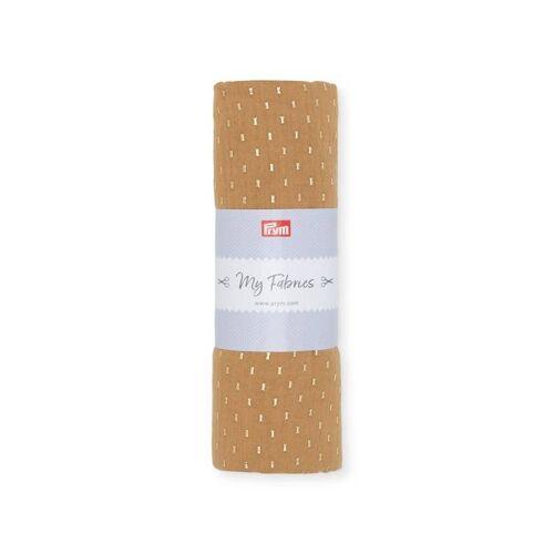 PRYM Musselin GEO   Größe 1m   Farbe: zimt   Kategorie: Musselin   100% Baumwolle