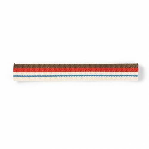 PRYM Gurtband für Taschen, 40mm, natur/mehrfarbig, 3m, 100% Polyester, Bänder & Borten, Gurtbänder