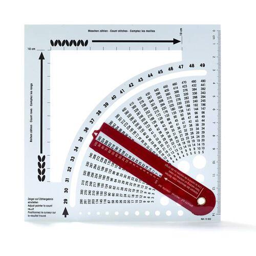 PRYM Strickrechner mit Zählrahmen   Farbe: weiß   Kategorie: Strickrechner & Zählrahmen   100% Kunststoff