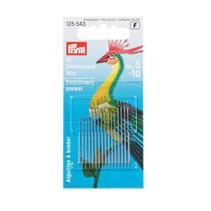 PRYM Crewelnadeln   Farbe: silber   Kategorie: Handnähnadeln  Sticknadeln   100% Stahl