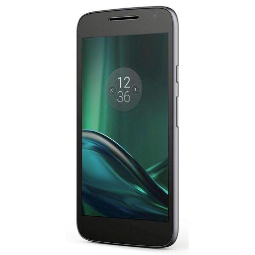 Motorola Refurbished-Sehr gut-Motorola Moto G4 Play 16 Gb   Schwarz Ohne Vertrag/36 M. Garantie