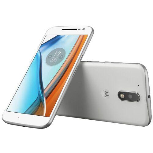 Motorola Refurbished-Wie neu-Motorola Moto G4 Play 16 Gb   Weiß Ohne Vertrag/36 M. Garantie