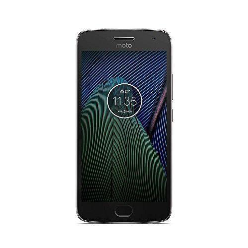 Motorola Refurbished-Gut-Motorola Moto G5 Plus 32 Gb   Grau Ohne Vertrag/36 M. Garantie