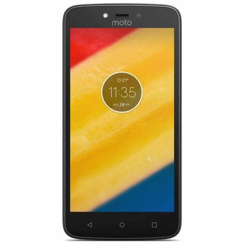 Motorola Refurbished-Wie neu-Motorola Moto C 16 Gb   Schwarz Ohne Vertrag/36 M. Garantie