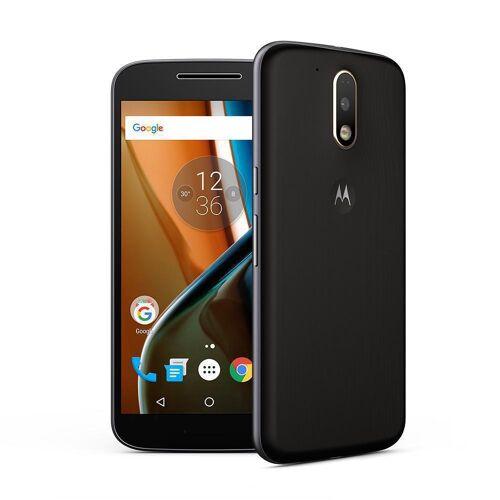 Motorola Refurbished-Wie neu-Motorola Moto G4 16 Gb   Schwarz Ohne Vertrag/36 M. Garantie