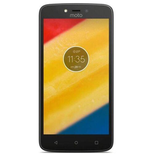 Motorola Refurbished-Wie neu-Motorola Moto C Plus 16 Gb Dual Sim Schwarz Ohne Vertrag/36 M. Garantie