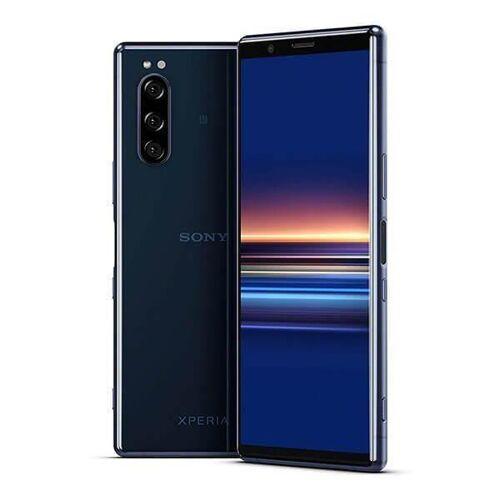 Sony Refurbished-Gut-Sony Xperia 5 128 Gb Dual Sim Blau Ohne Vertrag/36 M. Garantie