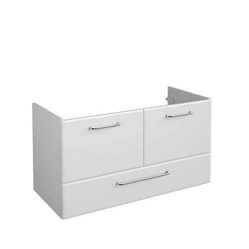 Pelipal Filo Waschbeckenunterschrank Breite 96cm Weiß