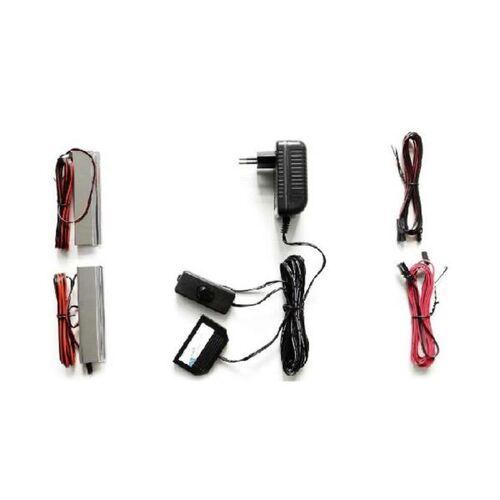 MCA Beleuchtung LED-Glaskantenbeleuchtung 2er Set