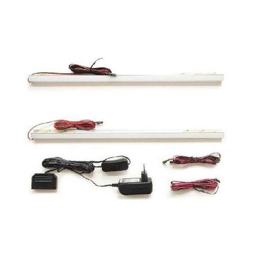 MCA Beleuchtung LED-Rückwandbeleuchtung 45 cm 2er-Set