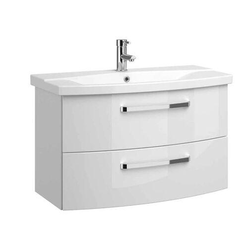 Pelipal Fokus 4010 Waschtisch-Set 2-tlg. Weiß