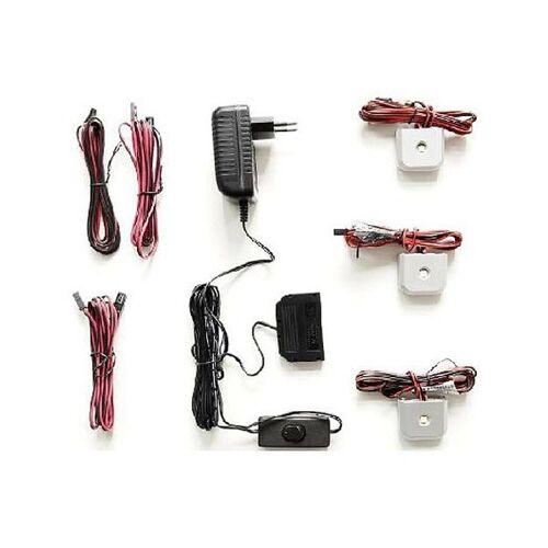 MCA Beleuchtung LED-Glasbodenbeleuchtung 3er-Set