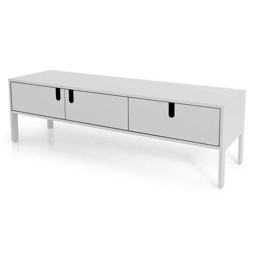 Tenzo Uno Lowboard 171x46x50cm Weiß