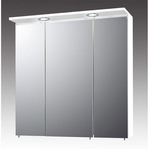 Schildmeyer Spiegelschrank SPS 700.1 Spot 70,4x15,8-23,7x72,3cm Weiß