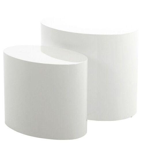 AC Design Mice Beistelltisch-Set 2-tlg. Weiß