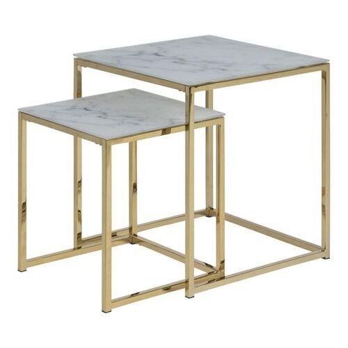 AC Design Alisma Beistelltisch-Set 2-tlg. Gelb