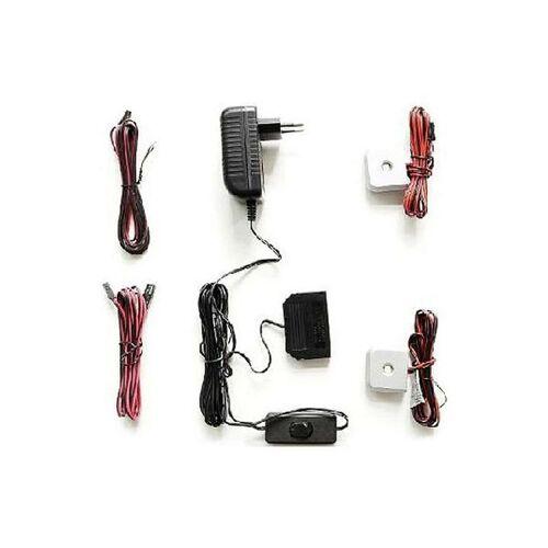 MCA Beleuchtung LED-Glasbodenbeleuchtung 2er-Set