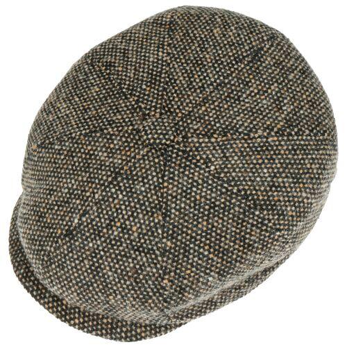 Lierys Tweed Schildmütze braun L (58-59 cm)