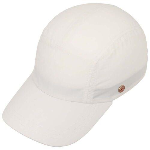 Mayser Mütze Kappe Riccardo Sunblocker Cap weiß 57 cm