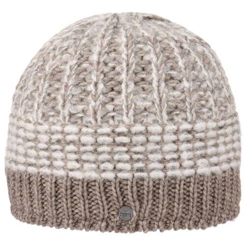 Lierys Mohair Twotone Strickmütze Beanie Wintermütze Damenmütze Herrenmütze Skimütze Mütze