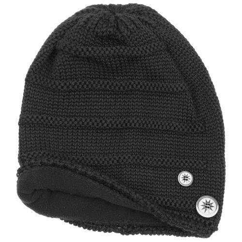 Eisbär Cullen Oversize Beanie Strickmütze Mütze Oversize-Mütze Skimütze Wintermütze Wollmütze schwarz One Size