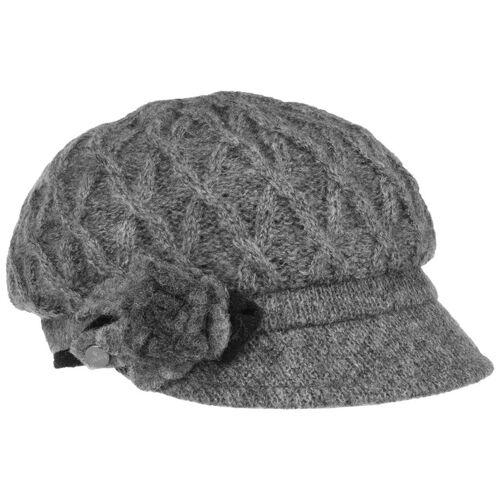 Lierys Carra Mohair Flower Ballonmütze Wollcap Wintercap Damencap Schirmmütze