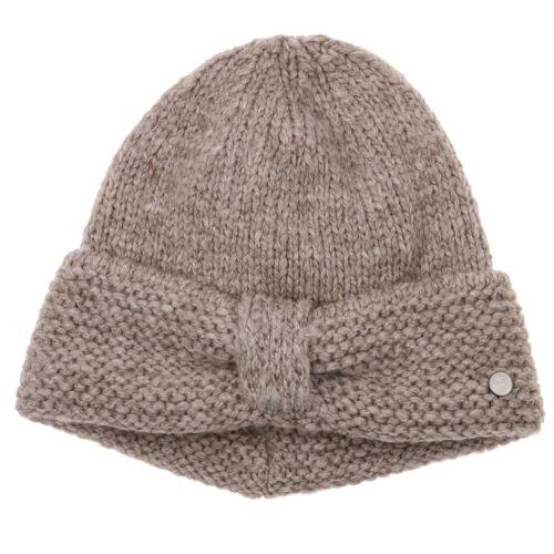 Lierys My-Mohair Strickmütze Wollmütze Wintermütze Damenmütze Mütze beige One Size