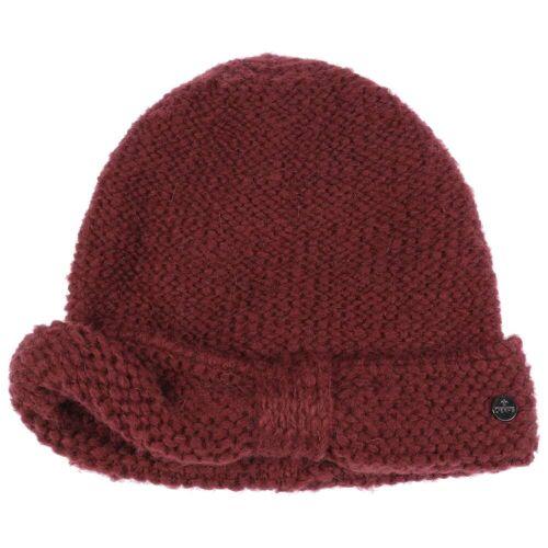 Lierys My-Mohair Strickmütze Wollmütze Wintermütze Damenmütze Mütze bordeaux One Size