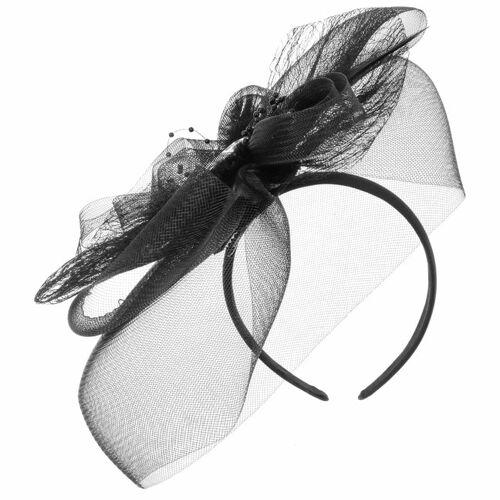 Maja Prinzessin von Hohenzollern Loopy Fascinator Haarschmuck Hochzeitshut Anlasshut