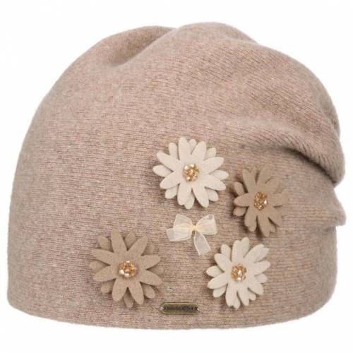 McBURN Flowers Wollbeanie Wollmütze Beanie Damenmütze Wintermütze