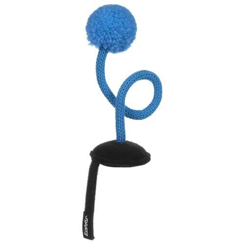 Eisbär Ping Pong Helmaufkleber Helmsticker Helmdeko Sticker für Skihelm blau