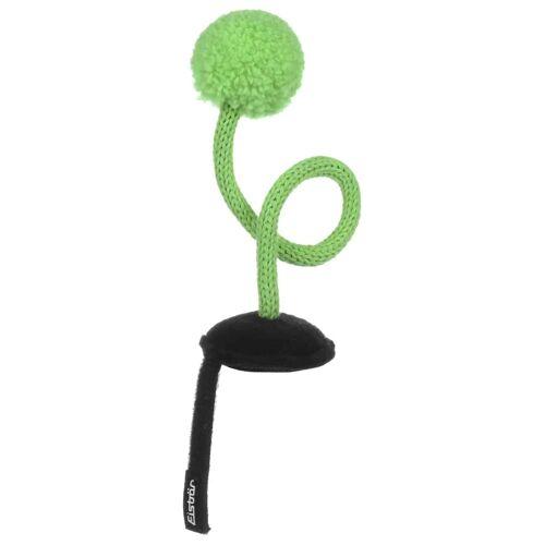 Eisbär Ping Pong Helmaufkleber Helmsticker Helmdeko Sticker für Skihelm grün