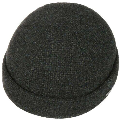 Stetson Castleton Wool Dockermütze Wollmütze Wolldocker Herrenmütze Dockercap oliv L (58-59 cm)