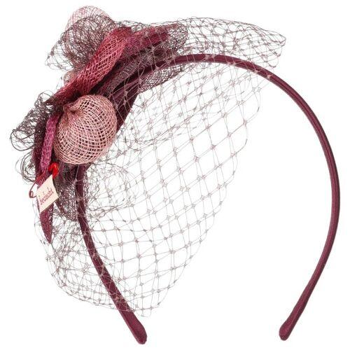 bedacht Ledalia Fascinator Anlasshut Hochzeitshut Kopfschmuck