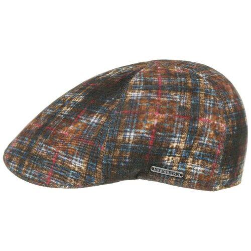 Stetson Texas Feincord Flatcap Schirmmütze Schiebermütze Baumwollcap