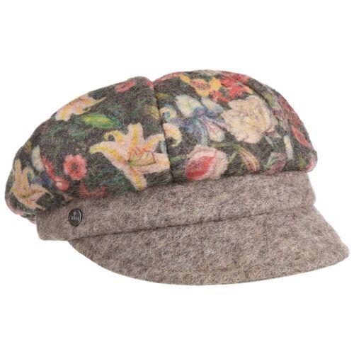 Lierys Flower Panels Ballonmütze Damencap Schildmütze Wollcap Newsboy-Mütze Baker-Boy-Mütze