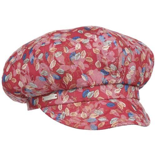 Seeberger Marile Flowers Ballonmütze Schirmmütze Schildmütze Damencap Baker-Boy-Mütze