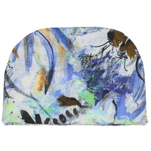 Mayser Abbey Jersey Turban Stoffturban Damenturban Sommerturban Kopftuch Sommermütze Stoffmütze blau One Size