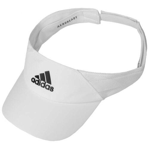 Adidas Aeroready Visor Sonnenvisor Sonnenschutz Tennis-Cap weiß One Size