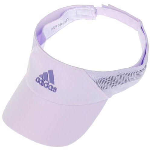 Adidas Aeroready Visor Sonnenvisor Sonnenschutz Tennis-Cap lila One Size