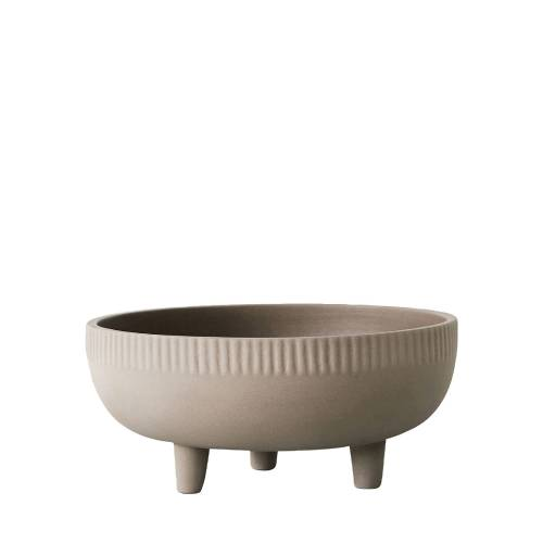 DAM Bowl Blumentopf  grau